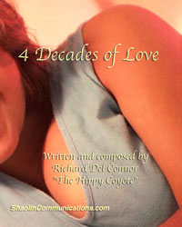 book cover of 4 Decades of Love poetry book