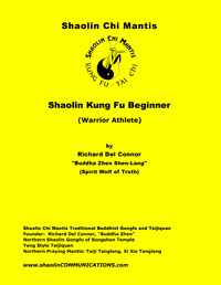 Shaolin Kung Fu Beginner book cover