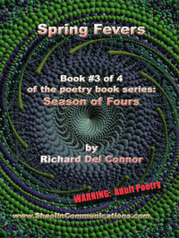 book cover of SPRING FEVERS poetry by The Coyote