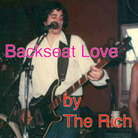 single cover BACKSEAT LOVE by The Rich